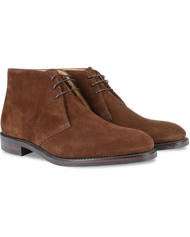 Loake 1880 Kempton Boot Brown Suede i gruppen Skor hos Care of Carl (10631111r)