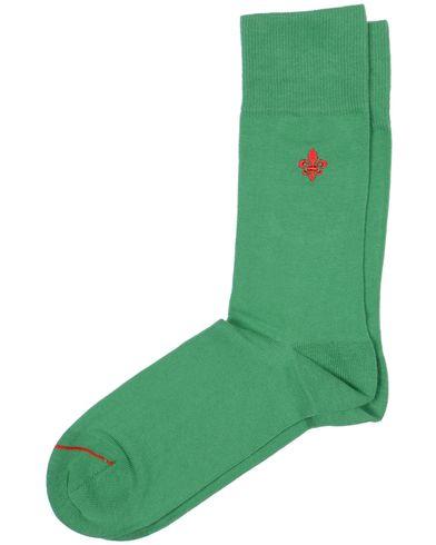 Morris Solid Sock Green  i gruppen Underkläder / Strumpor hos Care of Carl (10648010)