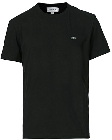 Lacoste T-Shirt Black i gruppen T-Shirts / Kortärmade t-shirts hos Care of Carl (10668011r)