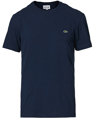 Lacoste T-Shirt Marine i gruppen T-Shirts / Kortermede t-shirts hos Care of Carl (10668111r)