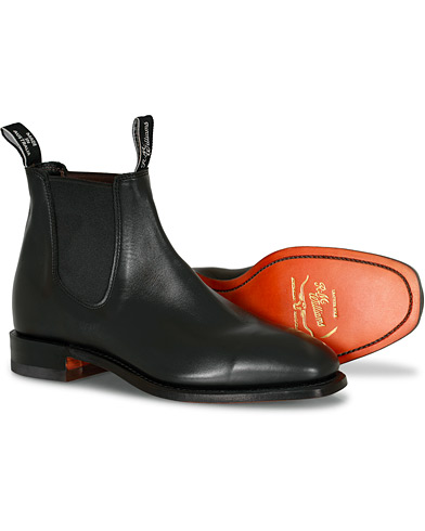 R.M.Williams Craftsman G Boot Yearling Black i gruppen Skor / Kängor / Chelsea boots hos Care of Carl (10716111r)