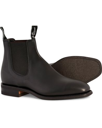 R.M.Williams Blaxland G Boot Yearling Black i gruppen Sko / St�vler / Chelsea boots hos Care of Carl (10716211r)