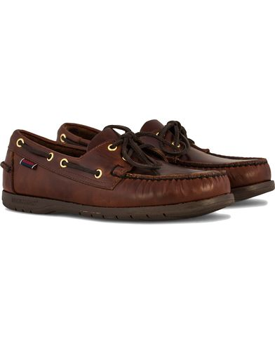 Sebago Endeavor Boat Shoe Brown i gruppen Sko / Sejlersko hos Care of Carl (10724211r)