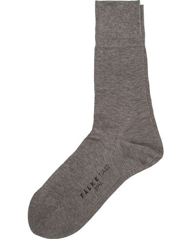 Falke Tiago Socks Light Grey Melange i gruppen Underkl�der / Strumpor hos Care of Carl (10745211r)