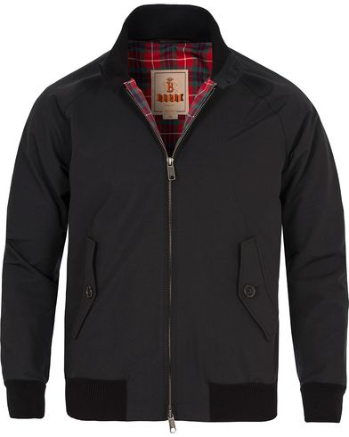 Baracuta G9 Original Harrington Jacket Black i gruppen Jackor / Tunna jackor hos Care of Carl (10750811r)
