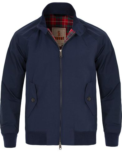 Baracuta G9 Original Harrington Jacket Navy i gruppen Jakker / Tynne jakker hos Care of Carl (10750911r)