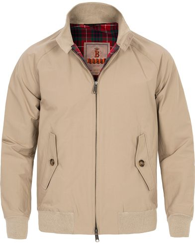 Baracuta G9 Original Harrington Jacket Natural i gruppen Tøj / Jakker / Tynde jakker hos Care of Carl (10751011r)