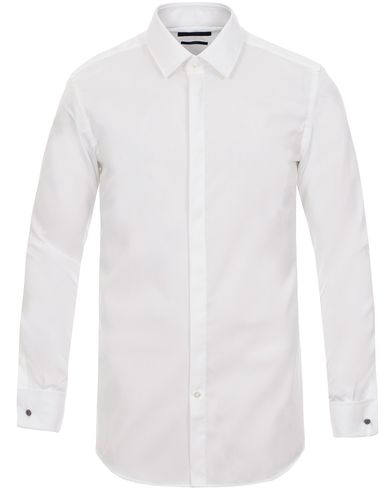 BOSS Ilias Shirt White i gruppen Klær / Skjorter / Formelle skjorter hos Care of Carl (10785511r)