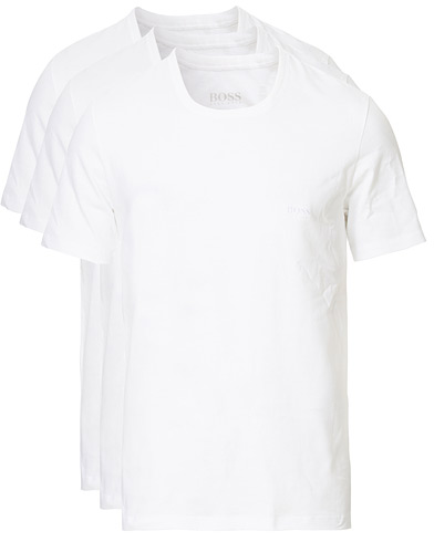 BOSS 3-Pack Crew Neck T-Shirt White i gruppen Tøj / T-Shirts hos Care of Carl (10786211r)
