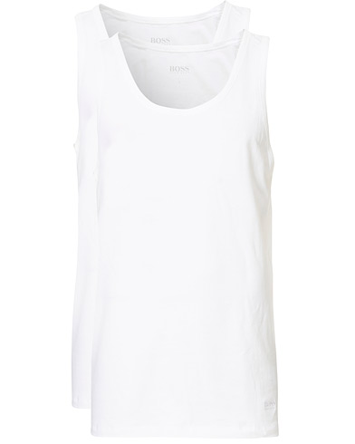 BOSS 3-Pack Tank Top White i gruppen T-Shirts / Tanktoppe hos Care of Carl (10786511r)
