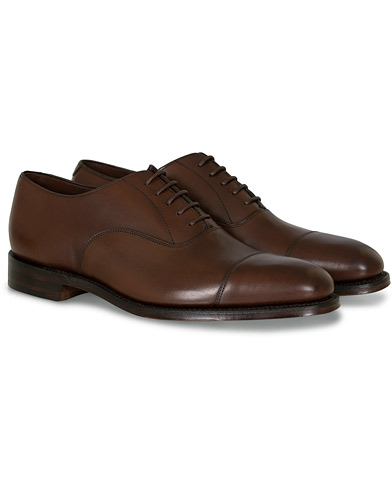 Loake 1880 Aldwych Oxford Dark Brown Calf i gruppen Sko / Oxfords hos Care of Carl (10789311r)