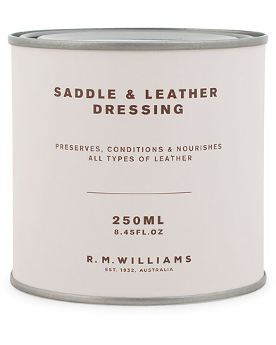 R.M.Williams Saddle Dressing i gruppen Skor / Skovård / Skovårdsprodukter hos Care of Carl (10792410)