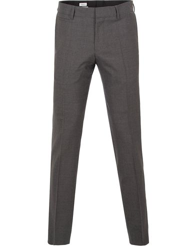 Filippa K Christian Cool Wool Slacks Grey Melange i gruppen Byxor / Kostymbyxor hos Care of Carl (10794211r)