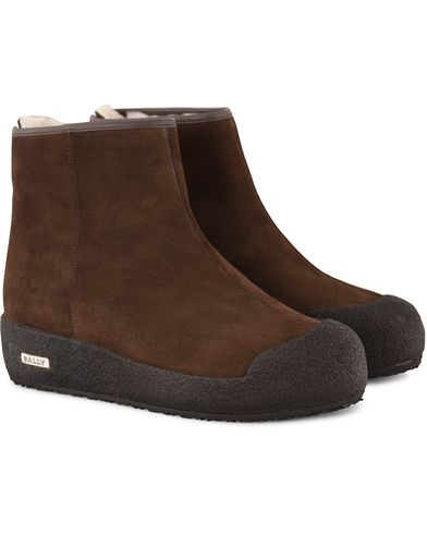 Bally Guard II M Curling Boot Mocha Brown i gruppen Sko / Støvler / Curlingstøvler hos Care of Carl (10800111r)