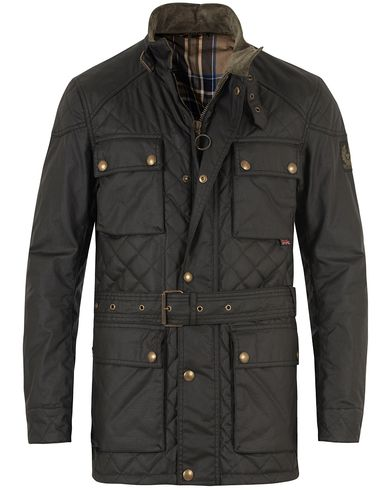 Belstaff Redford Jacket Black i gruppen Jackor / Vaxade jackor hos Care of Carl (10801111r)