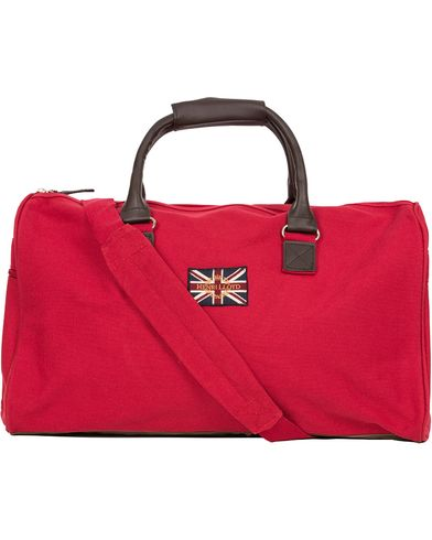 Henri Lloyd Cullen Overnight Bag Signal Red  i gruppen Accessoarer / Väskor / Weekendbags hos Care of Carl (10810610)