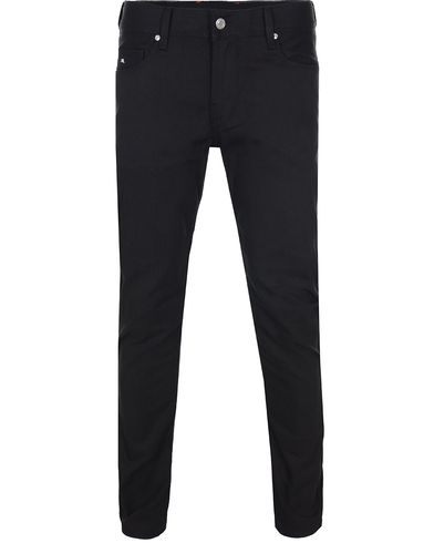 J.Lindeberg Damien Stretch Denim Jeans Black i gruppen Jeans / Smale jeans hos Care of Carl (10828811r)