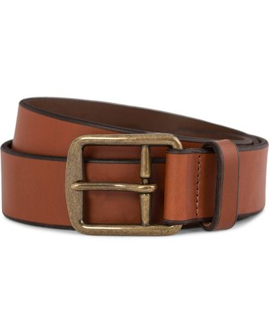 Polo Ralph Lauren Belt Casual Harnest Saddle Brown i gruppen Assesoarer / Belter / Umønstrede belter hos Care of Carl (10890111r)