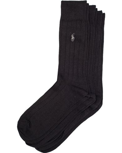 Polo Ralph Lauren 3-Pack Sock Dress Black  i gruppen Undertøj / Strømper / Almindelige sokker hos Care of Carl (10890710)