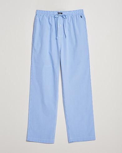 Polo Ralph Lauren Pyjama Pant Mini Gingham Blue i gruppen Klær / Undertøy / Pyjamaser hos Care of Carl (10892011r)