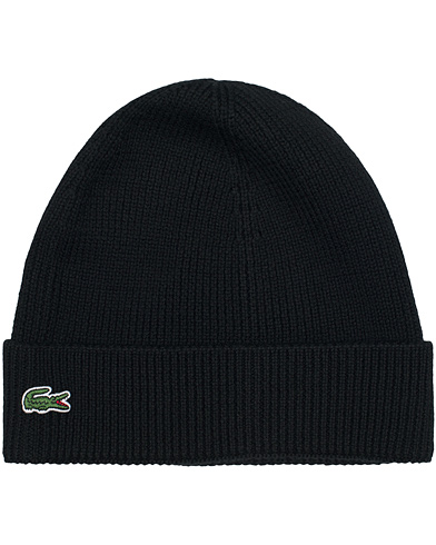Lacoste Knitted Cap Black  i gruppen Accessoarer / M�ssor hos Care of Carl (10907010)