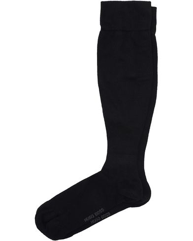 BOSS Business Class Travel Socks Black i gruppen Kläder / Underkläder / Strumpor / Knästrumpor hos Care of Carl (10912311r)