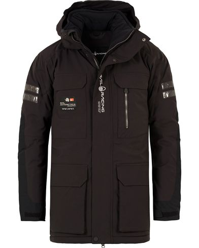 Sail Racing Glacier Bay Parka Carbon i gruppen Klær / Jakker / Parkas hos Care of Carl (10925311r)