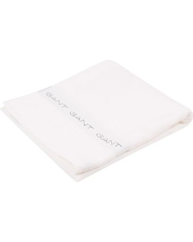 GANT Beach Towel White i gruppen Accessoarer / Livsstil / Till hemmet hos Care of Carl (10937210)