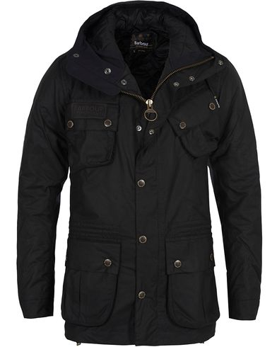 Barbour International Fog Parka Black i gruppen Jakker / Oilskinsjakker hos Care of Carl (10943311r)