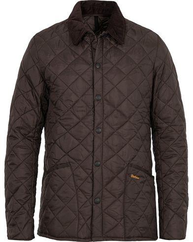 Barbour Heritage Liddesdale Jacket Rustic i gruppen Design A / Jakker / Quiltede jakker hos Care of Carl (10943911r)