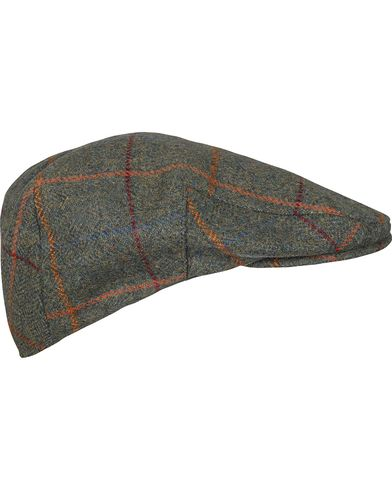Barbour Lifestyle Crieff Cap Olive Plaid i gruppen Assesoarer / Caps / Sixpence hos Care of Carl (10945711r)