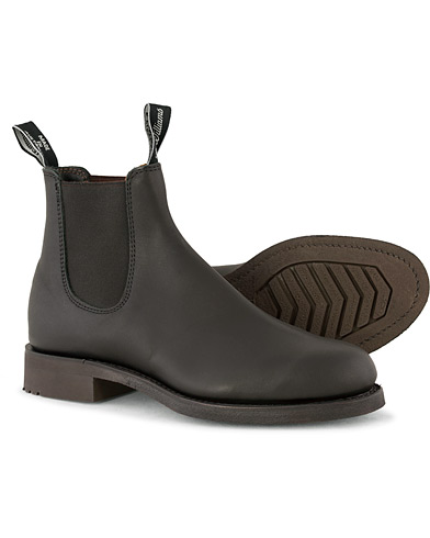 R.M.Williams Gardener G Boot Greasy Kip Black i gruppen Sko / Støvler / Chelsea boots hos Care of Carl (10969911r)