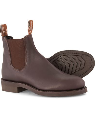 R.M.Williams Gardener G Boot Greasy Kip Brown i gruppen Skor / Kängor / Chelsea boots hos Care of Carl (10970011r)