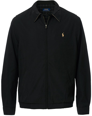 Polo Ralph Lauren BI-Swing Windbreaker RL Black i gruppen Jackor / Tunna jackor hos Care of Carl (10976711r)