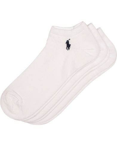 Polo Ralph Lauren 3-Pack Ghost Sock White  i gruppen Underkl�der / Strumpor hos Care of Carl (10980910)