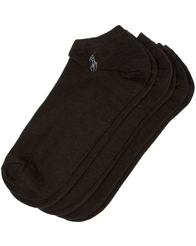 Polo Ralph Lauren 3-Pack Ghost Sock Black  i gruppen Design A / Undertøj / Strømper / Ankelsokker hos Care of Carl (10981010)