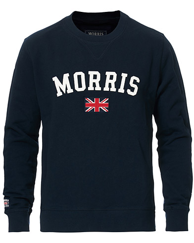 Morris Brown Sweater Navy i gruppen Gensere / Sweatshirts hos Care of Carl (10983811r)