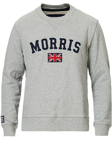 Morris Brown Sweater Grey i gruppen Gensere / Sweatshirts hos Care of Carl (10983911r)