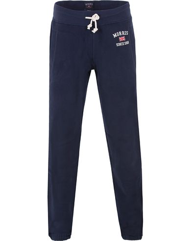 Morris Princeton Sweatpants Navy i gruppen Bukser / Joggingbukser hos Care of Carl (10984211r)