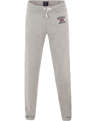 Morris Princeton Sweatpants Grey i gruppen Bukser / Joggebukser hos Care of Carl (10984311r)
