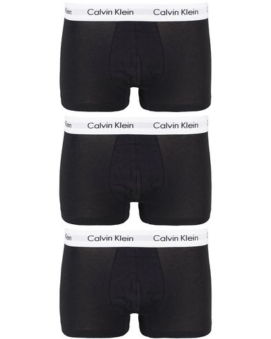 Calvin Klein Cotton Stretch Trunk 3-pack Black i gruppen Undertøj / Boxershorts hos Care of Carl (10990211r)