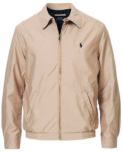 Polo Ralph Lauren BI-Swing Windbreaker Khaki i gruppen Jakker / Tynde jakker hos Care of Carl (10992811r)