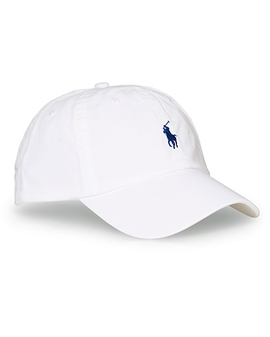 Polo Ralph Lauren Classic Sports Cap White  i gruppen Tilbehør / Kasketter / Baseball caps hos Care of Carl (10994210)
