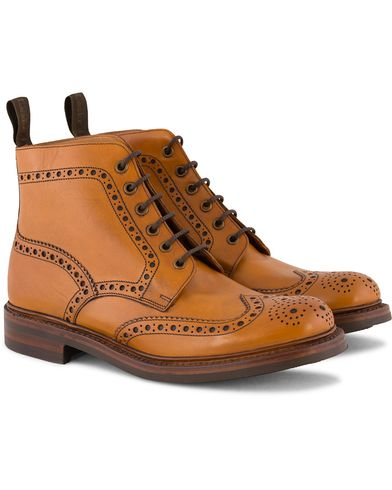 Loake 1880 Bedale Boot Tan Burnished Calf i gruppen Sko / Støvler hos Care of Carl (10995711r)