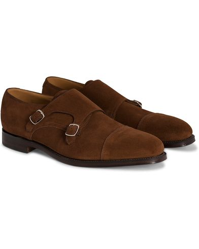 Loake 1880 Cannon Monkstrap Polo Suede i gruppen Sko / Munkesko hos Care of Carl (10995911r)