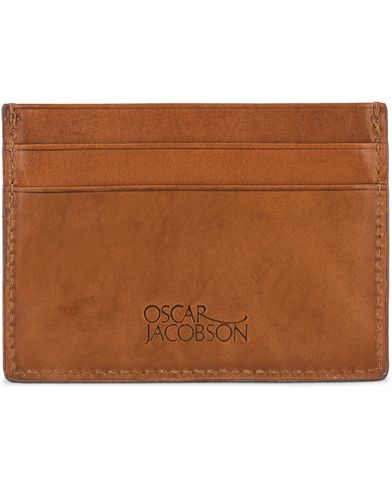 Oscar Jacobson Credit Card Holder Tan  i gruppen Design A / Assesoarer / Lommebøker / Kortholdere hos Care of Carl (10998510)