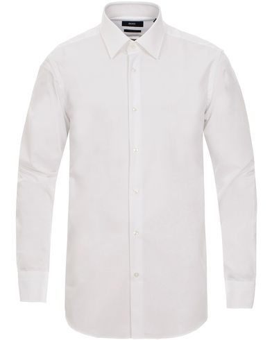 BOSS Enzo Regular Fit Shirt White i gruppen Skjorter / Formelle skjorter hos Care of Carl (11000111r)