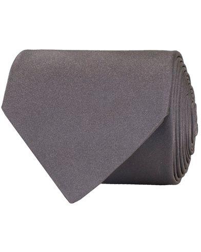 BOSS Tie 7,5 cm Medium Grey  i gruppen Accessoarer / Slipsar hos Care of Carl (11000610)