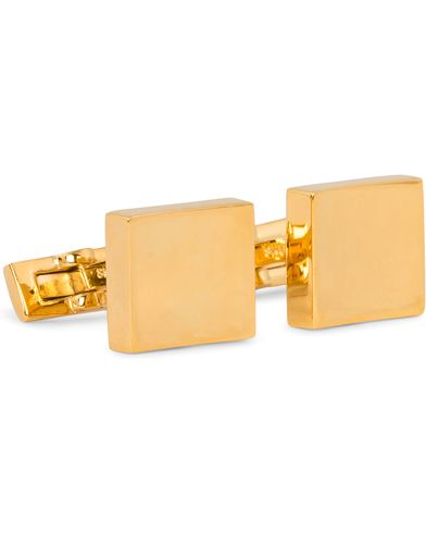 Skultuna Cuff Links The Stamp Gold  i gruppen Design B / Accessoarer / Manschettknappar hos Care of Carl (11005910)