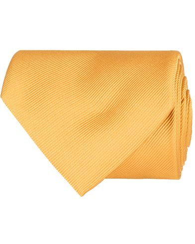 Amanda Christensen Plain Classic Tie 8 cm Gold  i gruppen Tilbehør / Slips hos Care of Carl (11009810)